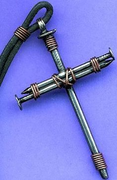 20 DIY Crafts Things to Make and Sell Must Try. nail cross pendant, make and sell, diy creative ideas, Vbs Crafts, Camping Crafts, Crafts For Teens, Crafts To Sell, Sell Diy, Diy Projects To Sell, Craft Projects, Garden Crafts, Camping Gear