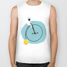 My bike Biker Tank by yael frankel - $28.00