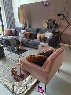 alonebifunow How To Decorate A Grey and Blush Pink Living Room   Decoholic -  How To Decorate A Grey and Blush Pink Living Room  - #blush #decoholic #decorate #grey #living #LivingRoomDesigns #ModernHouseDesign #ModernInteriorDesign #pink #Room<br> Blush Pink Living Room, Living Room Grey, Living Room Interior, Room Decor Bedroom, Home And Living, Living Room Decor, Pink Room, Cozy Living, Small Living