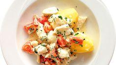 Tämä herkullinen kalapata valmistuu helposti ja nopeasti. Tarjoa lisänä keitettyjä perunoita.