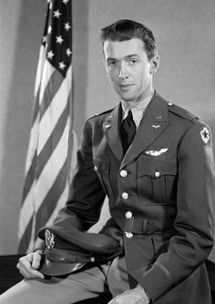Jimmy Stewart during WWII