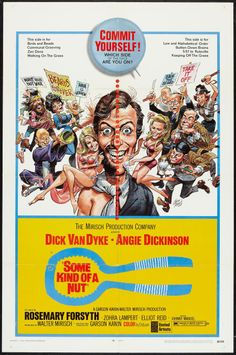 """The Dick Van Dyke movie! Bank teller Fred grows a beard to cover a bug bite; his bosses sting him with a pink slip. Also starring """"Pepper Anderson"""" as """"Laura Petrie."""" Rated M in 1969; not on DVD today or it'd be re-rated PG-13 (and M's the equivalent of PG)."""