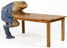 HELLA JONGERIUS  CLLC  #Frog Table
