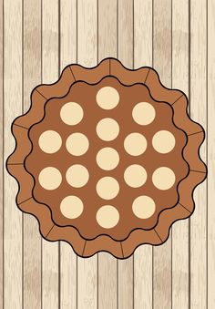 Pie play dough mat - made with www.piktochart.com. INSTRUCTIONS: print, laminate (or slip into a clear page protector), and play! Play Doh Fun, Play Dough, Animal Print Rug, Pie, Decor, Torte, Cake, Decoration, Fruit Cakes