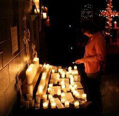 Wesley Covenant Prayer Station 7) THANKSGIVING -  Setting: lots of candles of different sizes, matches and something to collect burned ones, printed prayer from the covenant in small chunks.      Instructions: Our response to God should always include thanksgiving. Read through the prayer from the Covenant then add any additional thanksgivings – light a candle for them as you lift them up. Dare to whisper them out loud as you do so as a way of joining together with the grateful heart in one voice of the community.     O God, our Covenant Friend,  you have been gracious to us through all the years of our lives.  We thank you for your loving care,  which has filled our days and brought us to this time and place.  We praise your holy name, O God.  You have given us life and reason,  and set us in a world filled with your glory.  You have comforted us with family and friends and ministered to us through the hands of our sisters and brothers.  You have filled our hearts with a hunger after you and have given us your peace.  You have redeemed us and called us to a high calling in Christ Jesus.  You have given us a place in the fellowship of your Spirit and the witness of your Church.  You have been our light in darkness  and a rock of strength in adversity and temptation.  You have been the very Spirit of joy in our joys and the all-sufficient reward in all our labors.  You remembered us when we forgot you.  You followed us even when we tried to flee from you.  You met us with forgiveness when we returned to you.  Thank you for all your patience and overflowing grace.    Finally, as a closing together, when everyone has come back to a closing circle or whatever way the seating may be, speak these words together:    CLOSING PRAYER:   And now, glory be to you, O God the Father.  From this day forward we shall look upon as our God and Father.   (touch your forehead – symbolic of your willingness to look to him as leader)    Glory be to you, O God the Son,  who have loved us and washed us from our sins in your own blood,  and now is our Savior and Redeemer.  (touch your chest – symbolic of the work he has done at the center of your being)    Glory be to you, O God the Holy Spirit,  who by your almighty power have turned our hearts from sin to God.  (touch your left shoulder, then your right – symbolic of the spirit surrounding you)    O mighty God, the Lord all powerful, Father, Son, and Holy Spirit,  you have now become our Covenant Friend.   And we, through your infinite grace, have become your covenant servants.  So be it. And let the covenant we have made on earth be ratified in heaven.   Amen.
