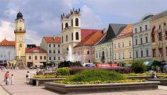 15 Amazing Places in Slovakia/ Banska Bystrica - Besztercebánya, SNP Square