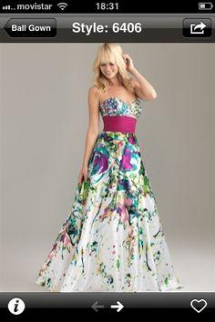 Vestido de fiesta en mi teléfono - Prom dress in my phone