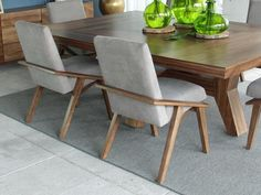 Dinning Tables And Chairs, Dining Bench, Dining Room, New Builds, Accent Chairs, Sweet Home, House, Furniture, Home Decor