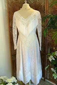 COWGIRL Wedding Dress // Ride in to the by TrueLoversBridalShop, $185.00