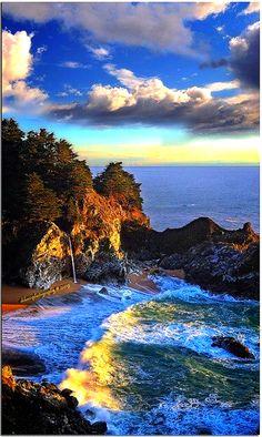 Coastal Drama,California