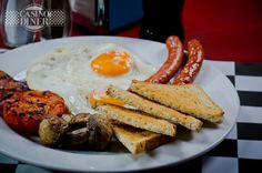 #Breakfast in Casino Diner