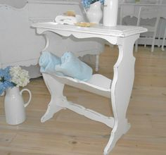 table shabby chic furniture painted furniture book by backporchco, $79.99