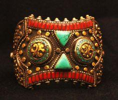 Tibetan wisdom bracelet by SilkRoadJewelry