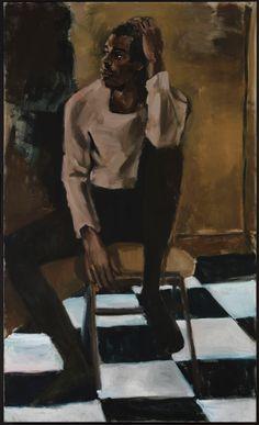 Considering Lynette Yiadom-Boakye's Borderless Bodies Black Female Artists, Female Painters, Wassily Kandinsky, African American Art, African Art, Art Africain, New Museum, Illustrations, Figurative Art