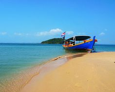 Cambodia: Sihanoukville is the best place to admire the many small islands off the picturesque coast, take in quality beach time, and party.