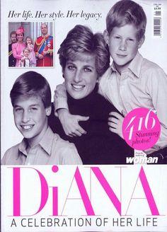 Princess Diana - A Celebration of Her Life UK Magazine - 416 Stunning Photos!