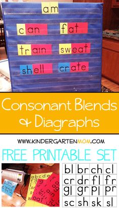 Freebie!   Learning to Read Printables Learning to Spell Printables