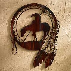"Tattoo idea for my uncle who passed. This image is usually referred to as ""The Trail's End"", or ""End of the Trail"". It's native American/""indian"", obviously.-BirdY"