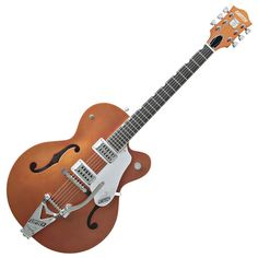 Gretsch G6120TV Brian Setzer Hot Rod with Ebony Fretboard - Tangerine (Clearance All Sales Final)