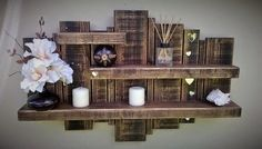 Floating Pallet Shelf