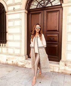 Street Hijab Fashion, Abaya Fashion, Muslim Fashion, Kimono Fashion, Modest Fashion, Fashion Dresses, Islamic Fashion, Iranian Women Fashion, African Fashion