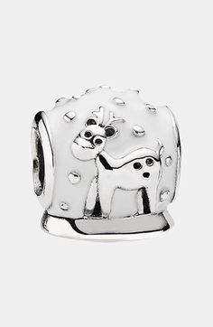 PANDORA '12 Days of Christmas - Day 8' Snow Globe Bead Charm This came out last year and has been one of my favorites ever since.