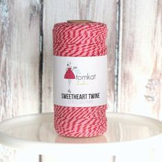 NEW! Sweetheart Twine - 100 Yds 12 Ply $8.95 from The TomKat Studio Party Shop shoptomkat.com