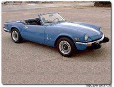 One day.... I want to restore my grandpa's spitfire to look just like this!! LOVE!