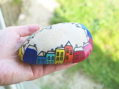 Painting on the stone