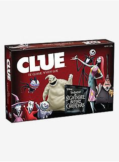 Where is Sandy Claws?<div><br></div><div>Who kidnapped the Sandy Claws, and locked him in a box? Where could he be hidden, behind a bunch of rocks? did someone send a present, or set a steel bear trap? It's up to you to sold the clues and find out where he's stashed.</div><div><br></div><div>In this exclusive <i>Nightmare Before Christmas</i> Clue game, you will need to solve the mystery of who kidnapped Sandy Claws. Where was he hidden? And what item was used to subdue…