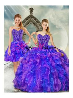 New Style and Detachable Beading and Ruffles Multi color Quinceanera Dresses for 2015 Modest Long Dresses, Sweet 15 Dresses, Dama Dresses, Quince Dresses, Unique Dresses, Cute Dresses, Red Quinceanera Dresses, Homecoming Dresses, Quinceanera Ideas