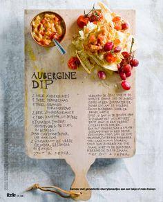 Aubergine Dip (nog te proberen)