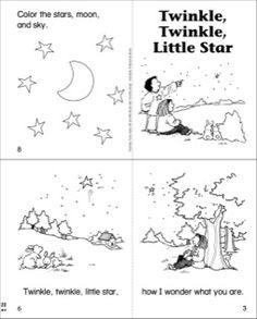 Twinkle, Twinkle, Little Star Mini-Book
