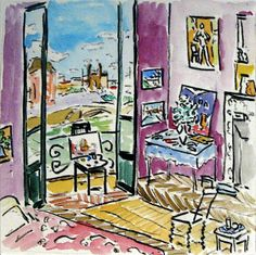 Matisse studio Paris by Damian Elwes