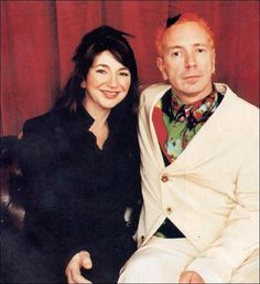 Kate Bush & Johnny Rotten