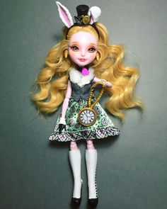 OOAK Bunny Blanc Ever After High