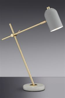 Marble And Brass Task Table Lamp £50 next