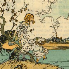 "children's book illustrators | Lovely Vintage Illustrations from Children's Book - ""The Wonderful ..."