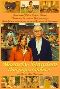 Il poster dedicato ai coniugi Bishop (Frances McDormand e Bill Murray)