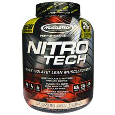 Best price! Muscletech Nitro Tech Whey Isolate on #iHerb 63% + $5 OFF - now $30,08 #RT Discount applied in cart