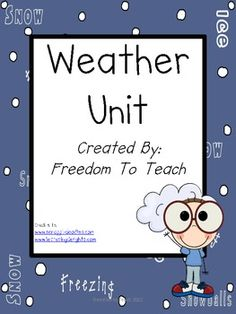 Stem: Weather Unit*lesson Plans*projects*game*study Guide*assessment