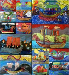china ship Art Education, Ship, Illustrations, Architecture, Children, Painting, Boys, Art Education Resources, Kids