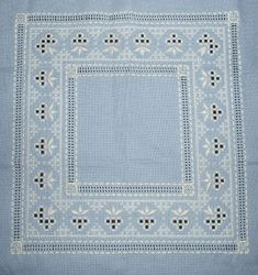 EMBROIDERY HARDANGER INTRODUCTION