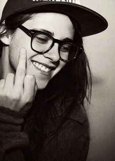 """""""Be healthy and fuck everyone"""" - Kristen Stewart."""