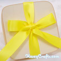Lemon Yellow Ribbon, Satin, Double Faced, 1″ (25mm)