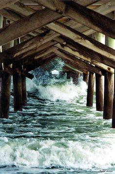 Trishy Rose: Wordless Wednesday: Under the Boardwalk!