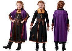 Costum rochie fetite Anna Disney Frozen 2 - Marime S Disney Frozen 2, Anna, Costume, Dresses, Fashion, Vestidos, Moda, Fashion Styles, Costumes