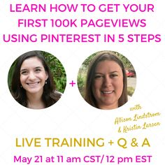 How to Get Your First 100K Pageviews Using Pinterest via @KristinLarsen_