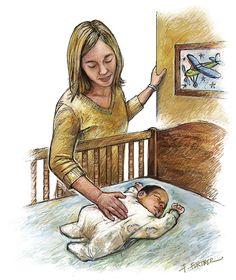 Infant Sleep Position: Back to Sleep. Arch Pediatr Adolesc Med. 2009;163(12):1168. doi:10.1001/archpediatrics.2009.230.