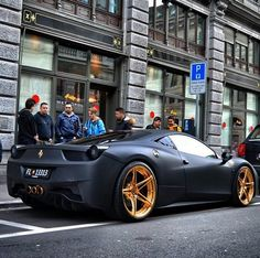 The Ferrari 458 is a supercar with a price tag of around quarter of a million dollars. Photos, specifications and videos of the Ferrari 458 Maserati, Ferrari 458, Ferrari 2017, Exotic Sports Cars, Exotic Cars, Dream Cars, Jaguar, Bmw M Power, F12 Berlinetta
